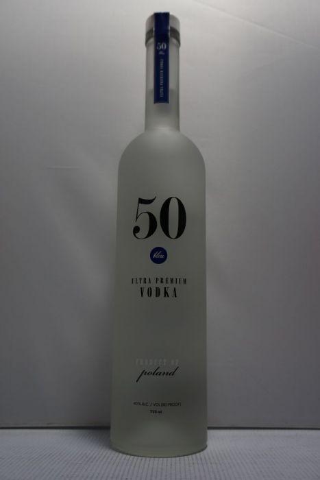 50 Bleu Vodka Premium Ultra Poland 750ml