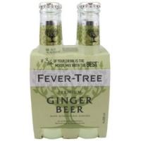Fever Tree Ginger Beer 4x200ml
