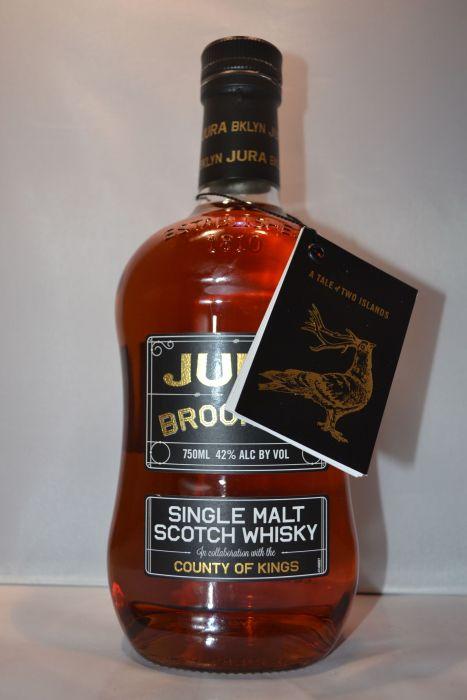 Jura Scotch Single Malt Brooklyn 84pf 750ml