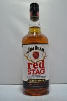 Jim Beam Red Stag Bourbon W/ Black Cherry 750ml