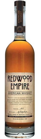 Redwood Empire Whiskey Lost Monarch American Sonoma 90pf 750ml