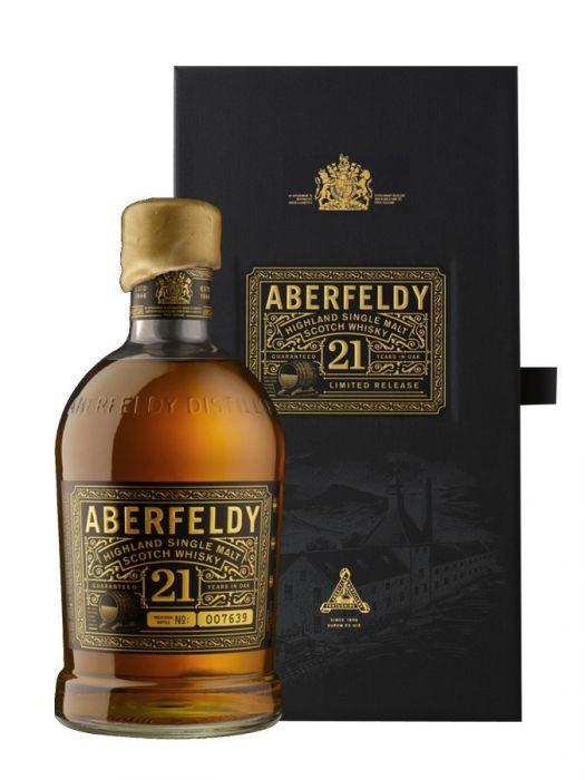 Aberfeldy Scotch Single Malt Highland 21yr 750ml