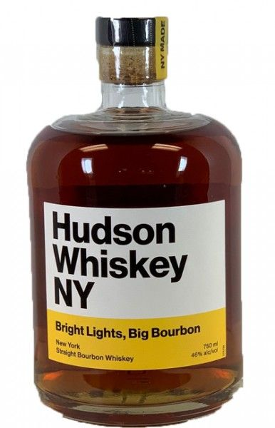 Hudson Bright Lights Big Bourbon New York 750ml