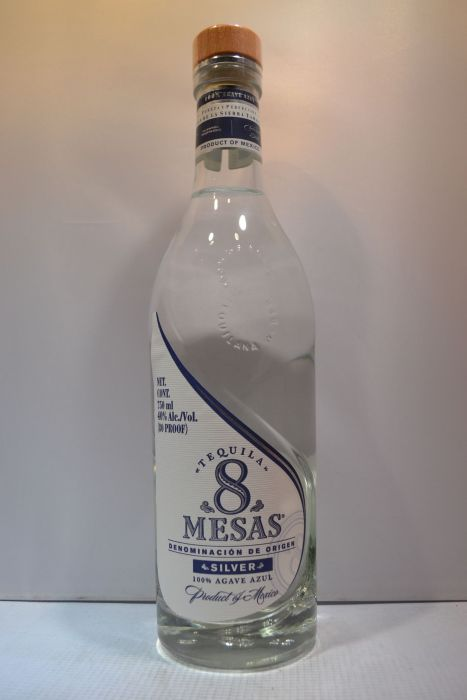 Tequila 8 Mesas Tequila Silver 750ml