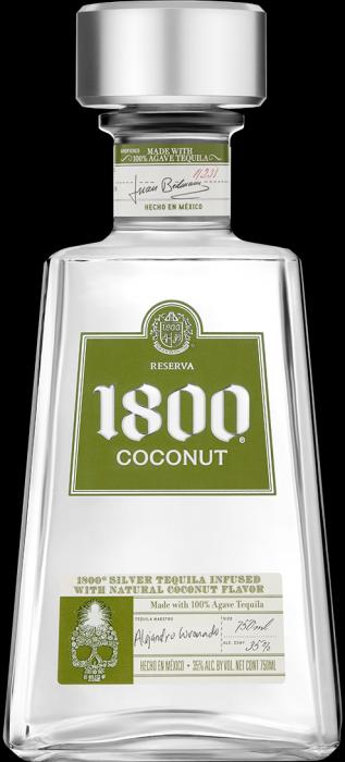 1800 Tequila Coconut Flavor 375ml