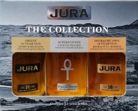 Jura Scotch Single Malt The Collection Origin 16yr/ Superstition/ Diurachs 16yr 3x50ml