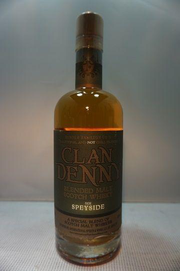 Clan Denny Scotch Blended Speyside 92pf 750ml