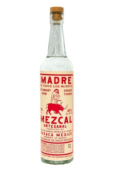 Madre Mezcal Espadin Y Cuishe Artesinal Product Mexico 90pf 750ml