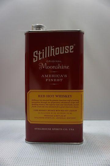 Stillhouse Moonshine Whiskey Red Hot American Finest 750ml