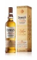 Dewars Scotch Blended White Label Scratched Cask 750ml