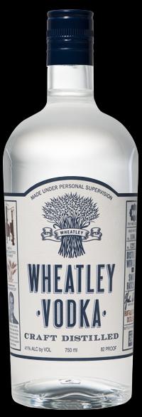 Wheatley Vodka Buffalo Trace Distillery Kentucky 82pf 750ml