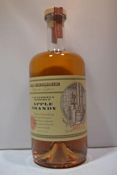 St George Brandy Apple California Rsv 750ml