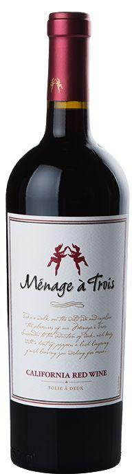 Menage A Trois Red Wine California 2017