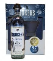 Brokers Gin London Premium Gift Pack 94pf 750ml