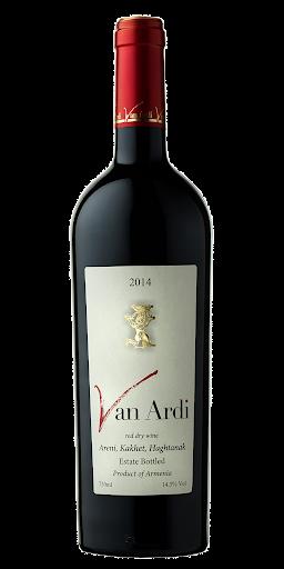 Van Ardi Red Wine Estate Bottled Armenia 2018