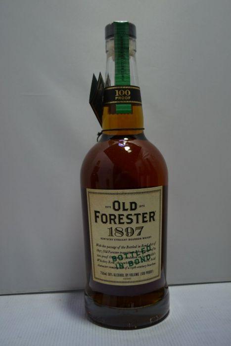 Old Forester Bourbon 1897 Bottled In Bond Kentucky 100pf 750ml