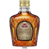 Crown Royal Whiskey Vanila Canada 50ml