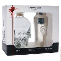 Crystal Head Vodka Canada Gft Pk W/ Shaker 750ml