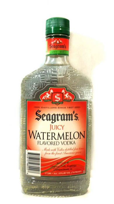 Seagram's Vodka Juicy Watermelon 375ml