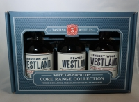 Westland Whiskey Single Malt Core Range Collection Washington 3x200ml