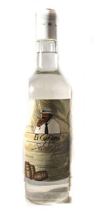 El Cubano Rum Silver Mexico 750ml