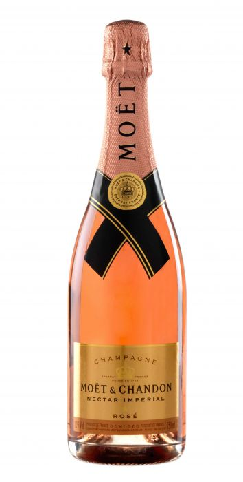 Moet & Chandon Champagne Nectar Imperial Rose France 750ml