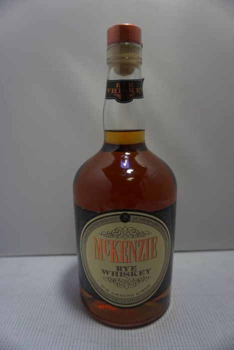 Mckenzie Whiskey Rye New York 91pf 750ml
