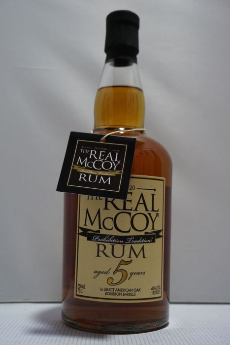 The Real Mccoy Rum Bourbon Barrel Barbados 5yr 750ml