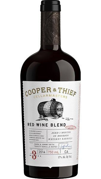Cooper & Thief Cellarmasters Red Wine Blend Aged In Bourbon Barrel California 2017