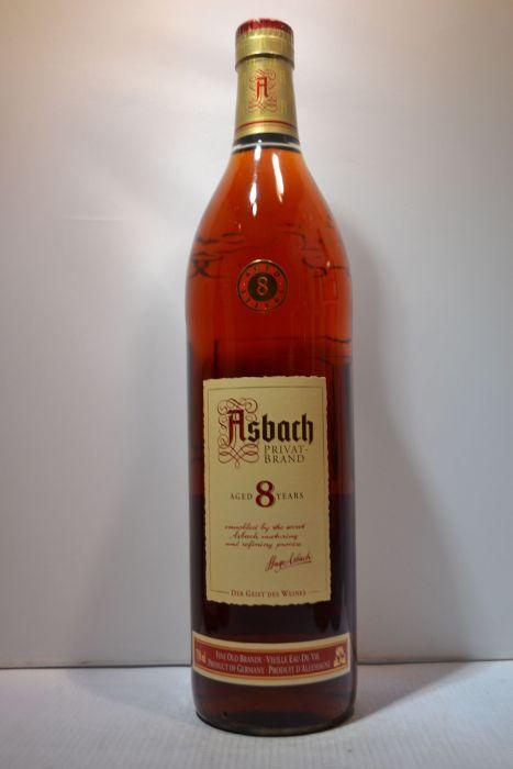Asbach Privat Brand Brandy 8yr Germany 750ml