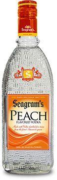 Seagrams Vodka Peach 750ml