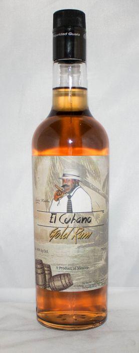 El Cuhano Rum Gold Mexico 750ml
