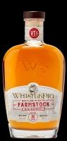 Whistlepig Whiskey Rye Farmstock Bottled In Barn Vermont 86pf 750ml