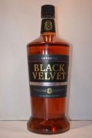 Black Velvet Whiskey Blended Canadian 1.75li