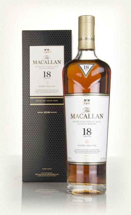 Macallan Scotch Single Malt Highland 86pf 18yr 750ml