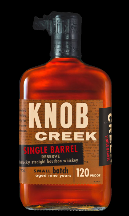Knob Creek Bourbon Single Barrel Reserve 120pf 750ml