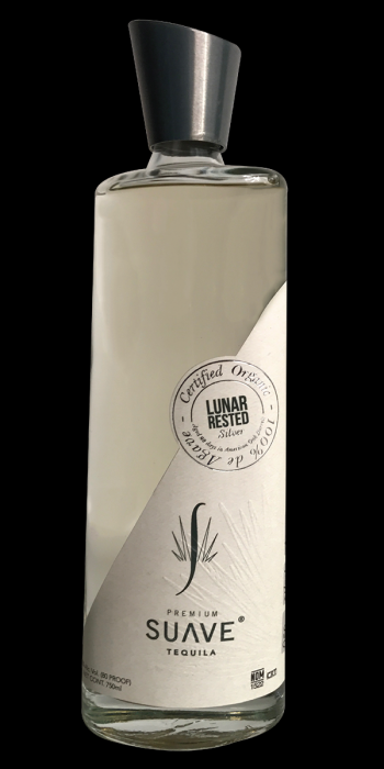Suave Tequila Organic Silver Lunar Rested 750ml