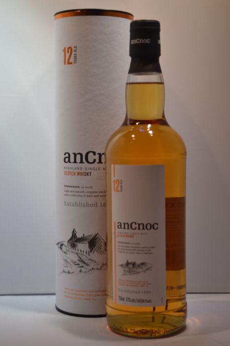 Ancnoc Scotch Single Malt Highland 12yr 86pf 750ml