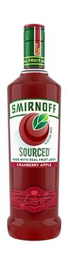 Smirnoff Source Vodka Cranberry Apple Gluten Free 750ml