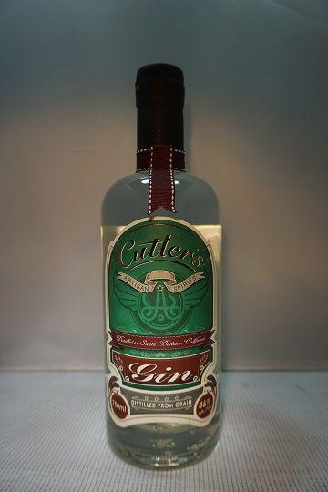 Cutlers Gin California 92pf 750ml