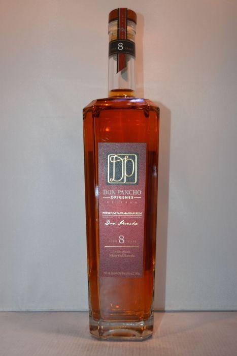 Don Pancho Rum Origenes Reserve 8yr Panama 750ml