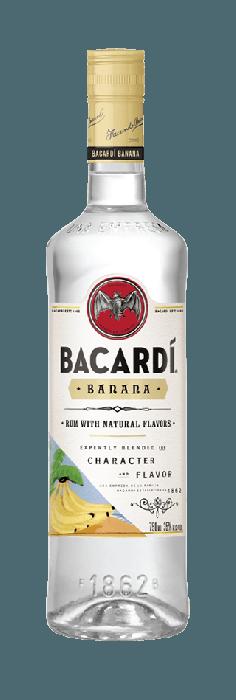 Bacardi Rum Banana Flavor 750ml