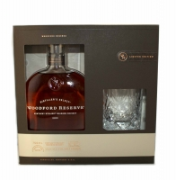 Woodford Reserve Bourbon Distillers Select Gift Pack With Glass 750ml