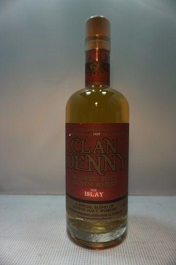 Clan Denny Scotch Blended Islay 92pf 750ml