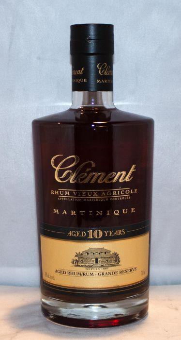 Clement Rhum Vieux Agricole Martinique 10yr 750ml