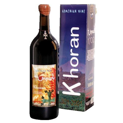 Khoran Dry Red Wine Armenia 3li
