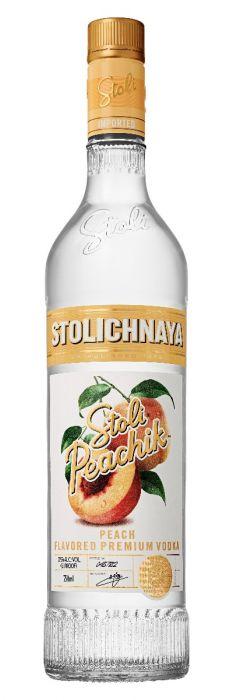Stolichnaya Vodka Peachik Latvia 750ml
