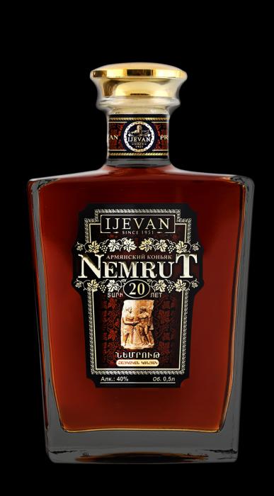 Ijevan Nemrut Brandy Armenia 20yr 750ml