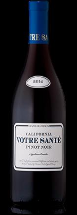 Votre Sante Pinot Noir Cuvee Du Patron California 2017
