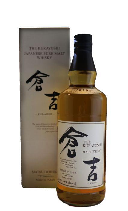 The Kurayoshi Whiskey Pure Malt Japan 92pf 750ml